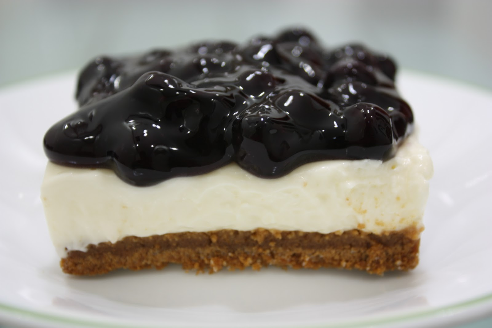 No-bake Blueberry Cheesecake | The Frustrated Chef